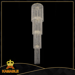 Luxury hotel lobby crystal ceiling lamp(KA2130)