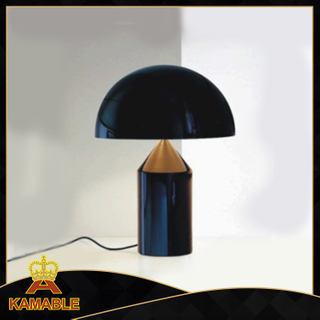 Metal Black Bedroom Table Light (KAT6096)