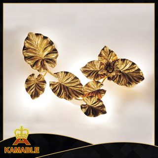 New Style Modern Cooper Leaf Wall Lamps (KA8857W-6)