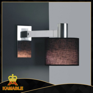 Hotel Stainless Steel Bedside Wall Lamp (KAW6063)