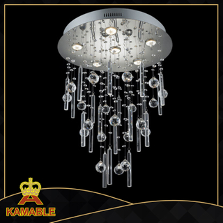 Dinging room iron glass ceiling light (MX58007-6)