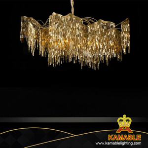 Hotel Decorate Luxury Modern Stainless Steel Chandelier (KAMD-111)