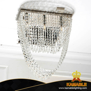 Square Shape Shining Glass Crystal Hotel Lobby Chandelier(KA507-C)