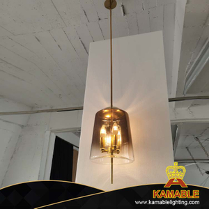 Modern design glass pendant light(KPJ18)