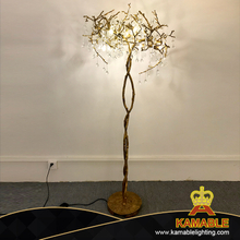 Luxury Interior modern Decoration Artistic Design Brass Golden Floor Lamp (KJF001)
