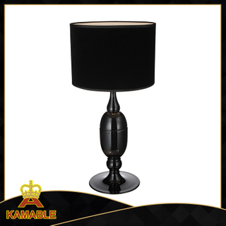 Elegance black resin restaurant table lamp decoration (GT8401-1)
