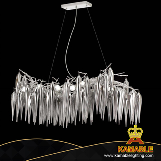 Home Decoration Aluminium Chrome Pendant Lamp (KA313-12)