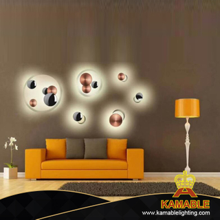 Modern Indoor Decor LED Wall Lantern (KA-88015-3)