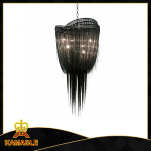 Black hotel decoration Chain chandelier(KA109)
