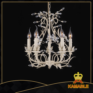 Good quality indoor decorative painted chandelier(40739-5L clear)