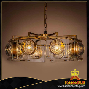 Indoor design decorative industrial crystal chandelier. (2127D70)
