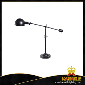 Curved style metal indoor decorative industrial table lamps (MT9090)