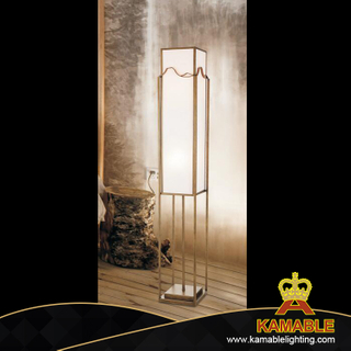 Modern Bedroom Steel Fabric Floor Lamp (KAGF1904)