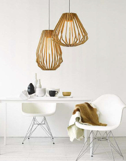 Modern indoor newest style wood decorative pendant lighting(MD20034-1B)