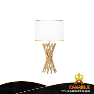 Indoor white Stainless Steel Table Lamp Lighting (KAMA003)
