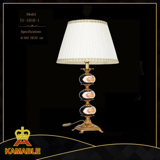 European home decorative ceramic table lamp(TA-1018-1)