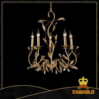 Simple style indoor decorative painted chandelier(4810-5L )
