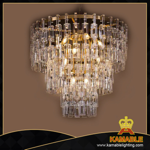 Modern indoor decorative crystal pendant light (1658D80)