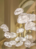 Hotel Lobby Decorative Elegant Glass Chandelier Lighting (9869P)