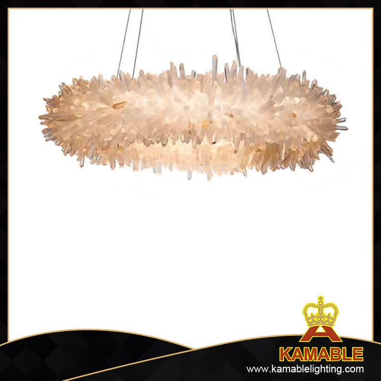 Modern Elegant design decorative art crystal pendant lamp (2120D80)