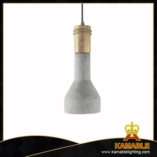 Resident Ash Wood lampholder cement pendant lamp (PC3004 )