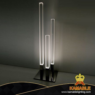 Simple Design Acrylic Strip Decorative Lighting Floor Lamp