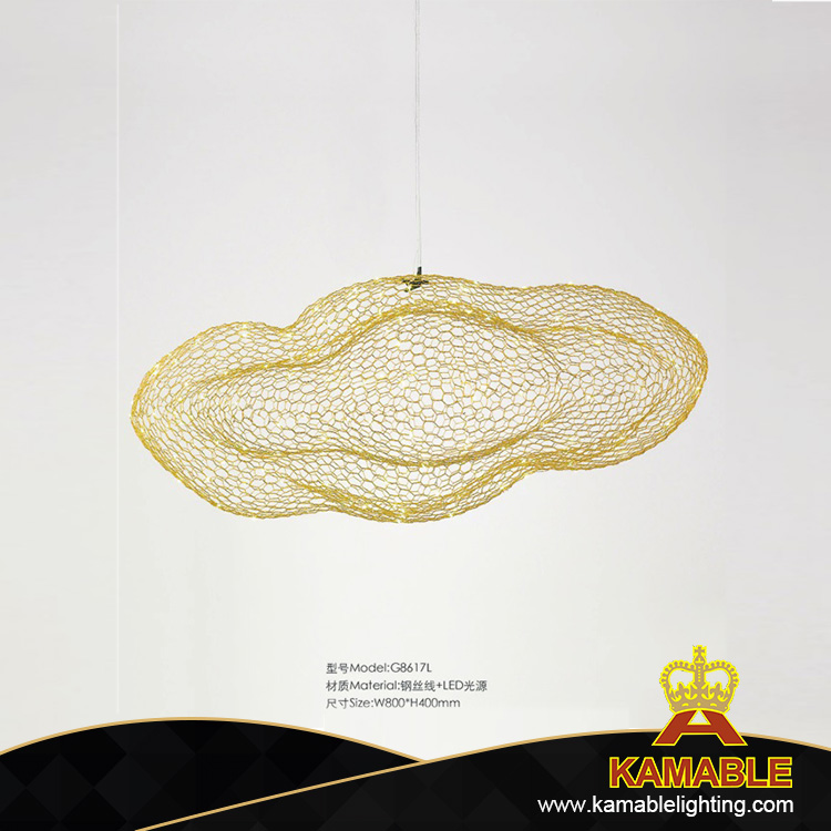 Decorative Steel Wire LED Project Pendant Lighting (G8617L)