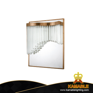 Modern Indoor Stainless Steel Bedside Wall Light (KAW18-075)