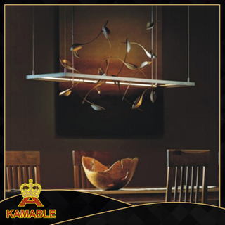 Decorative leaves and vintage distinctive restaurant pendant lamps (KAP6072)