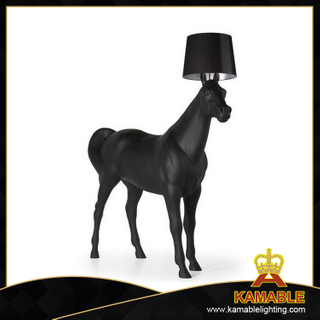 Newly horse decorative floor lamp for hotel lights (1029F)