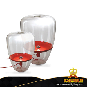 Decorative indoor modern glass painting table lights (MT10440-1-285 )