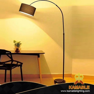 Promotion Indoor Modern Cheap Decorative Marble Base Iron Floor Lamp