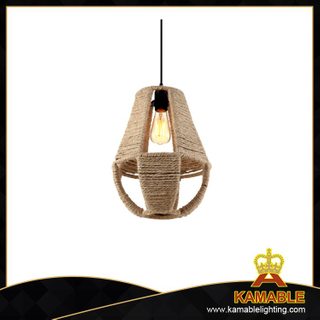 New Iron Hemp Rope Hanging Pendant Lights (C1036-H)