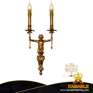 Hotel Restaurant Brass Decorative Wall Light(FB-0709-2 )