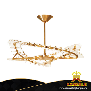 Hotel Chrome Decorative K9 Crystal Pendant Lighting (KABY730)