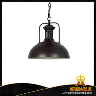 Black steel home decorative industrial pendant lamp (C725)