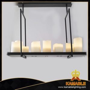 Modern black metal decorative interior pendant lamps (MD30206-15+2)