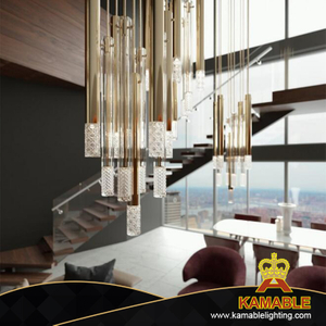 Modern Home Crystal Decorative Pendant Lamp (KPL1804)