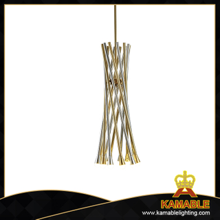 Mirror titanium decorative metal pendant light (KAP18-079-1)