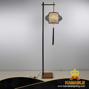 Contemporary Home Bamboo Floor Stand Lamp (KAPLD-0155)