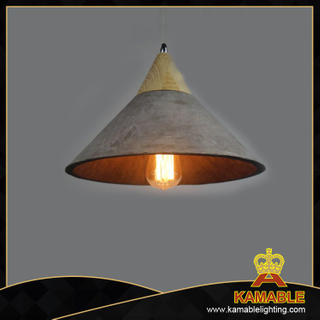 Modern Ash Wood Cement pendant lamps(PC3009)