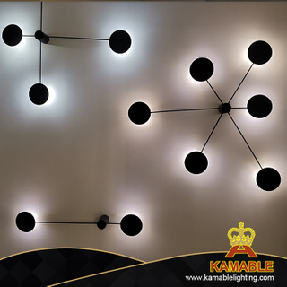 Modern Interior Decorative Dotted Line Round LED Wall Light (3315-6)