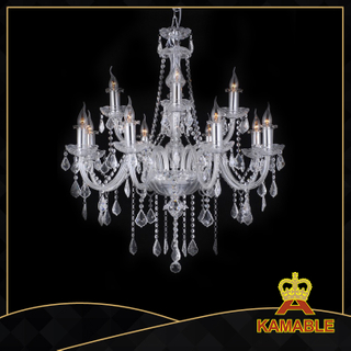 Fantastic style hotel lobby glass chandelier(9012-12L )