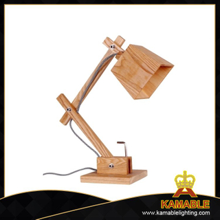 Special design foldable wood reading table light (LBMT-XG)