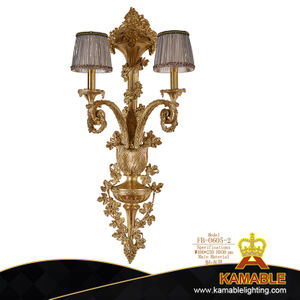 European Hotel Bedside Decorative Brass Wall Lighting (FB-0605-2 )
