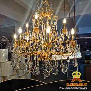 Hotel Lobby luxury decorative large crystal chandelier (BRC01)