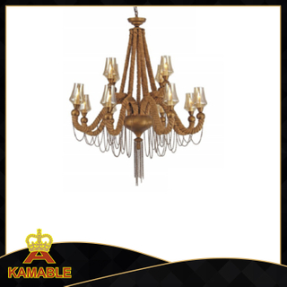 Retro style distinctive decorative hotel pendant lamp (KW0023P-8+4)