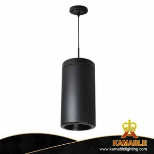 Simple Design Black Steel Aluminum Pendant Lamp (KPL1819)