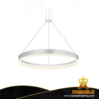 Project aluminum white color decoration modern pendant light (MD2004A80R)